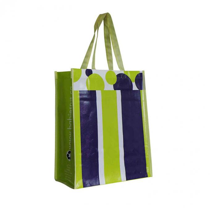 Eco Friendly Handle Custom Printed Non Woven Bags For Shopping Carrying