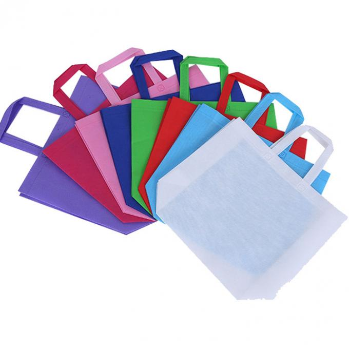 Recycled Non Woven Grocery Tote 100 Polypropylene Shopping Bags Eco friendly