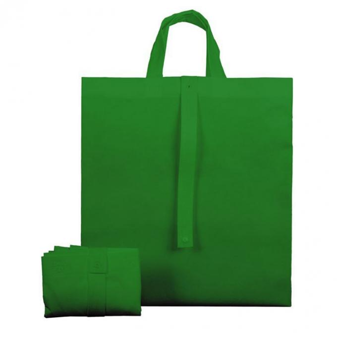 Fancy Eco Friendly Foldable Non Woven Bag Recyclable With Silk Screen Printing