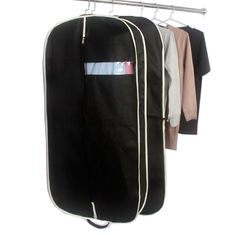 China Customized Zippered Garment Bags Nonwoven Fabric Mens Suit Garment Bag supplier