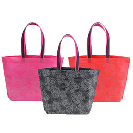 China Logo Printing Folding Non Woven Polypropylene Bag Reusable Shopping Bags supplier