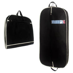 China Portable Travel Non Woven Garment Bag Eco Friendly  Foldable Suit Bag supplier