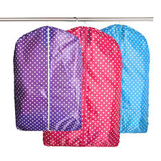 China Recyclable Folding Non Woven Garment Bag For Cloth Dust Cover Storage supplier