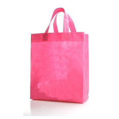 China Non Woven Christmas Laminated Shopping Bags Reusable Heat Transfer Printing supplier