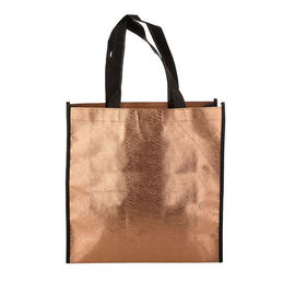 China Recycle Non Woven Carry Bags Laminated Polypropylene Tote Bags Handled Style supplier
