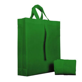 China Fancy Eco Friendly Foldable Non Woven Bag Recyclable With Silk Screen Printing supplier