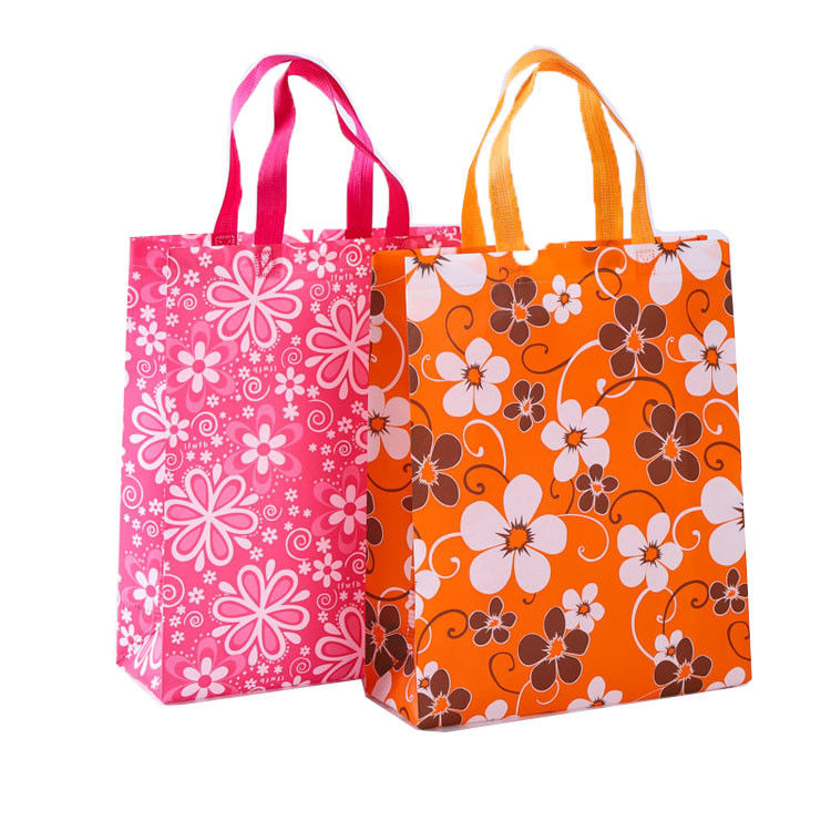 4283ec285032 China Offset Printing Foldable Non Woven Carry Bags With Reinforced Handles  supplier