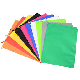 China Colorful Plain Non Woven Drawstring Bag Eco Friendly For Advertising distributor