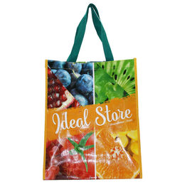 China Reusable Eco Friendly Non Woven Bag With Zipper Silk Screen Printing factory