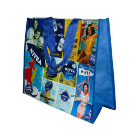 China Printing Recyclable Laminated Non Woven Bag Tote Shopping Bag Tear Resistant distributor