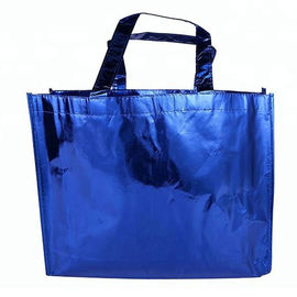 China Shopping Handle Laminated Polypropylene Tote Bags Non Woven Grocery Tote distributor