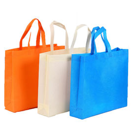 China D Cut Non Woven Polypropylene Tote Bags Promotional Reusable Grocery Bags distributor
