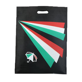 China Promotion D Cut Non Woven Bags Foldable Reusable Grocery Bag Eco Friendly factory
