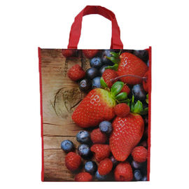 China Collapsible Promotional Laminated Non Woven Bag Recyclable For Advertising distributor