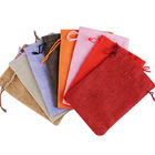 Small Cinch Up Backpack Drawstring Non Woven Tote Bags For Gift Packing